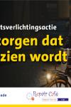 ANWB fietsverlichtingsactie Doehuis in Padbroek, Patrijzenveld 117, 5431 JR, Cuijk