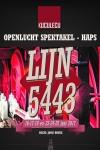"""Familie openluchtspektakel """"LIJN 5443"""" gebaseerd op het Duits Lijntje Haps"""