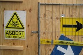 Asbestverbod van de baan