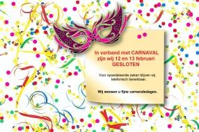 Openingstijden Carnaval