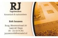 Rob Janssen Tegelwerken, Keramisch en Natuursteen